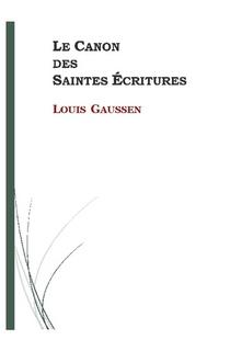 Le Canon des Saintes Écritures