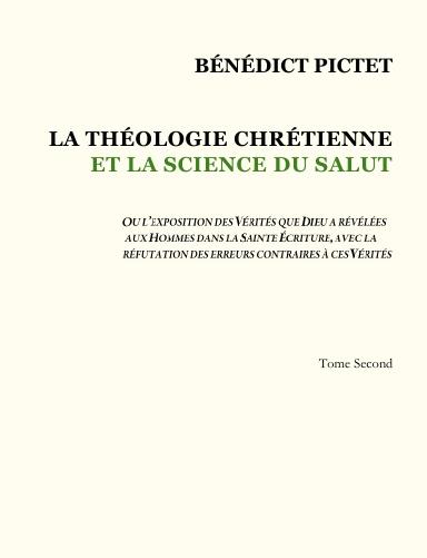 Théologie Chrétienne – Tome II